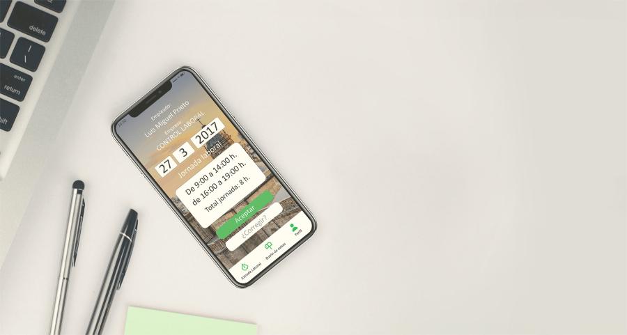 Aplikasi Kontrol Waktu untuk perusahaan