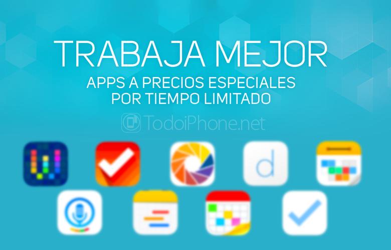 Tuottavuussovellukset iPhonelle alennuksilla App Storesta