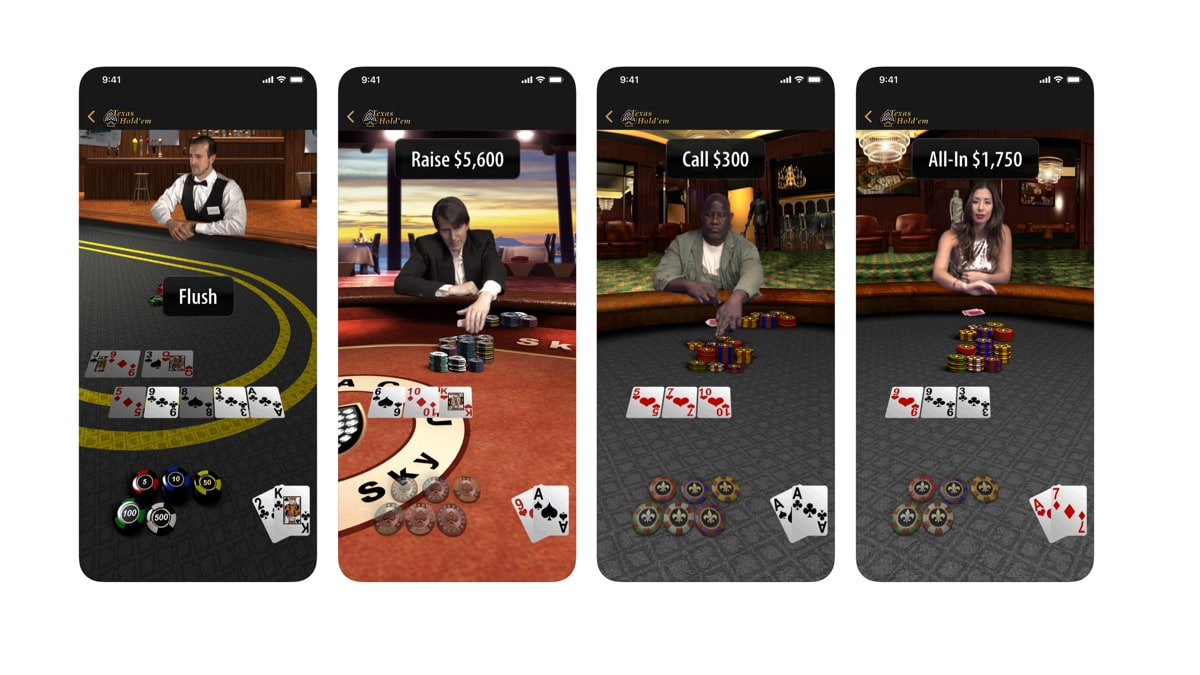 Apple Re-Releases Classic Texas Hold
