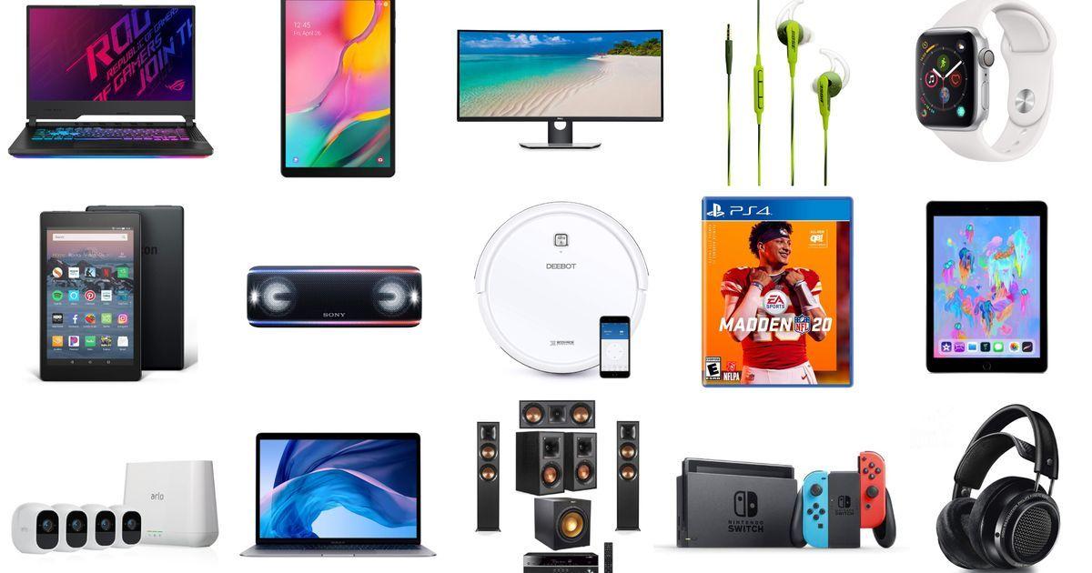 Apple MacBook Air, Samsung Galaxy, Madden NFL 20, vakum robot Deebot, ... 1