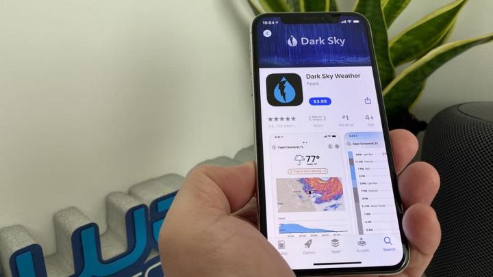 Dark Sky-appbilden köpt av Apple