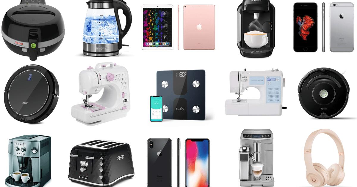 Apple iPhone, vakum robot Roomba, mesin kopi Bosch, headphone Bose, dan ... 1