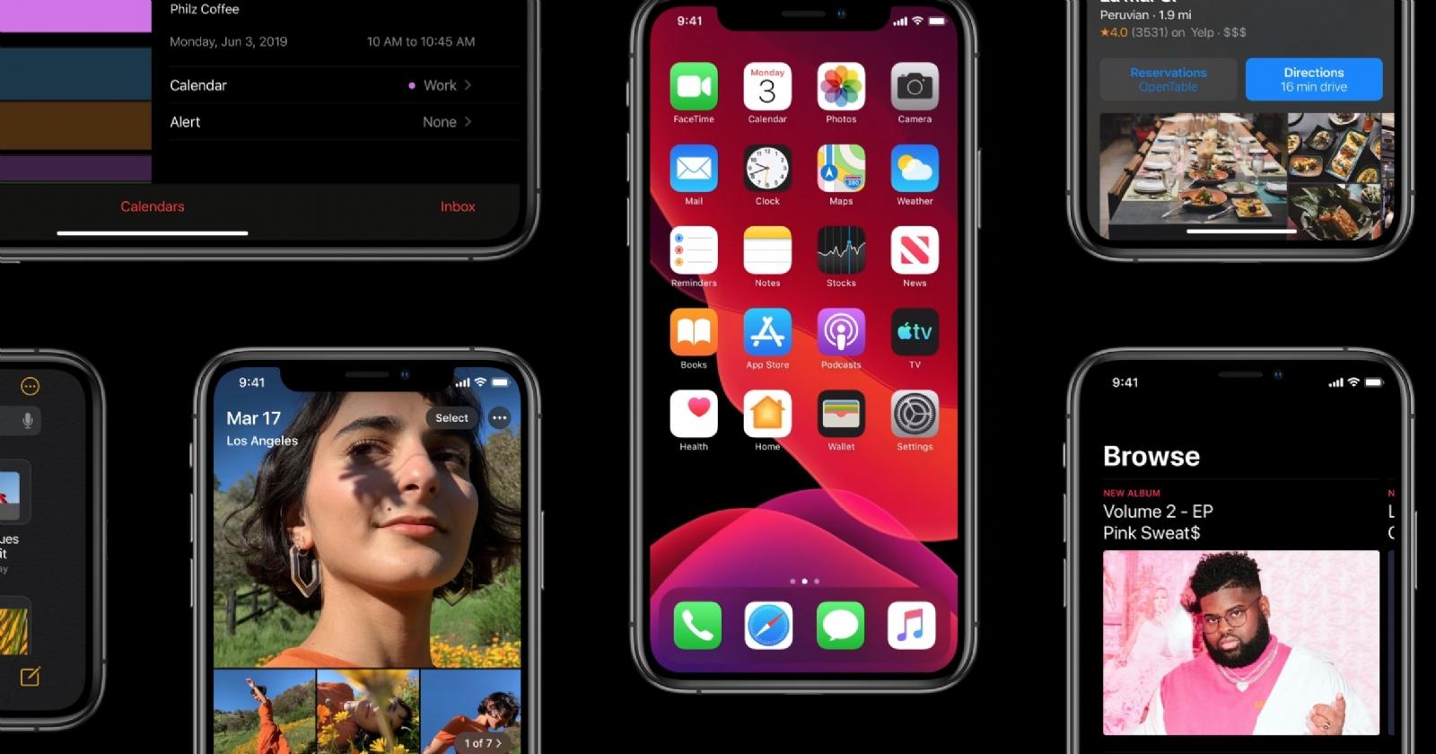Apple mengungkapkan beberapa kemajuan iOS 13 berikutnya 1