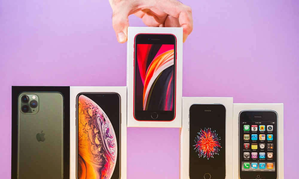 AppleBudget iPhone SE överträffar officiellt iPhone XS Max 1