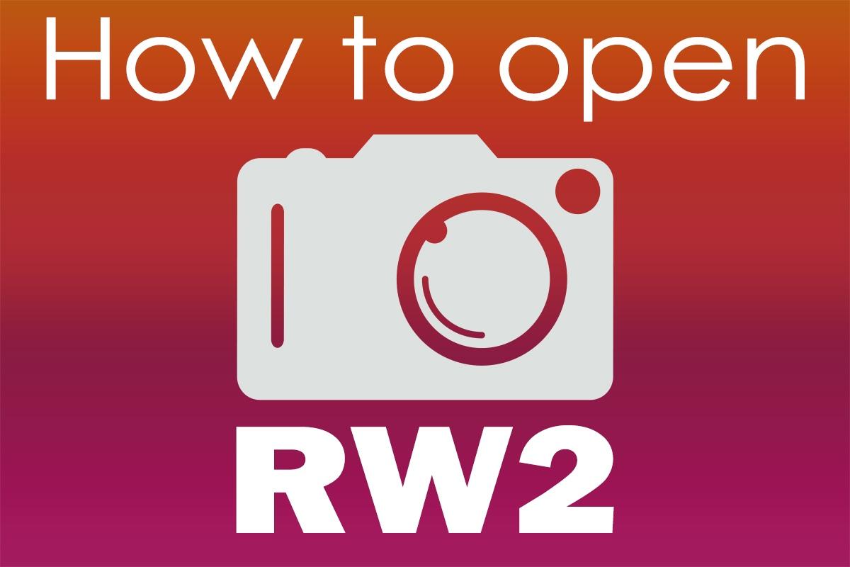 Berikut cara membuka file RW2 di Windows 1