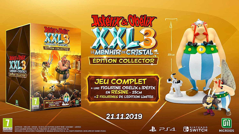 Asterix & Obelix XXL 3: The Crystal Menhir menghantam Eropa pada 21 November 2019, Edisi Kolektor diungkap