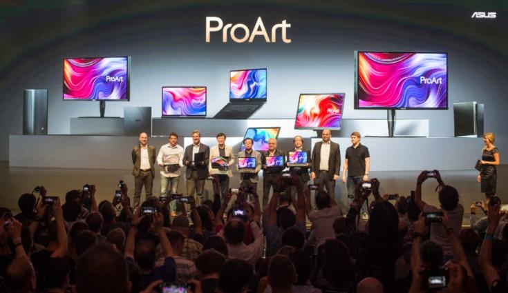 Asus mengumumkan seri ProArt, ASUSPRO B9, VivoWatch SP