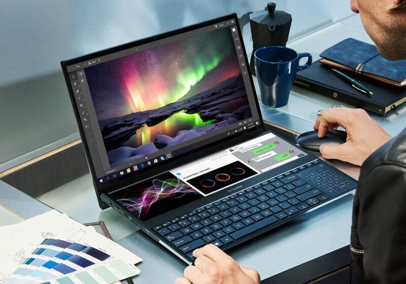 Asus julkaisee ZenBook Pro Duo hintaan $ 2, 499,99