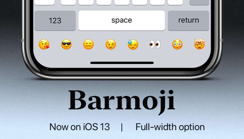 BarMoji mengintegrasikan bilah Emoji khusus ke dalam keyboard iOS 1