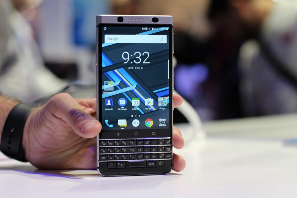 BlackBerry Mercury, ensimmäinen näyttelymme # CES2017