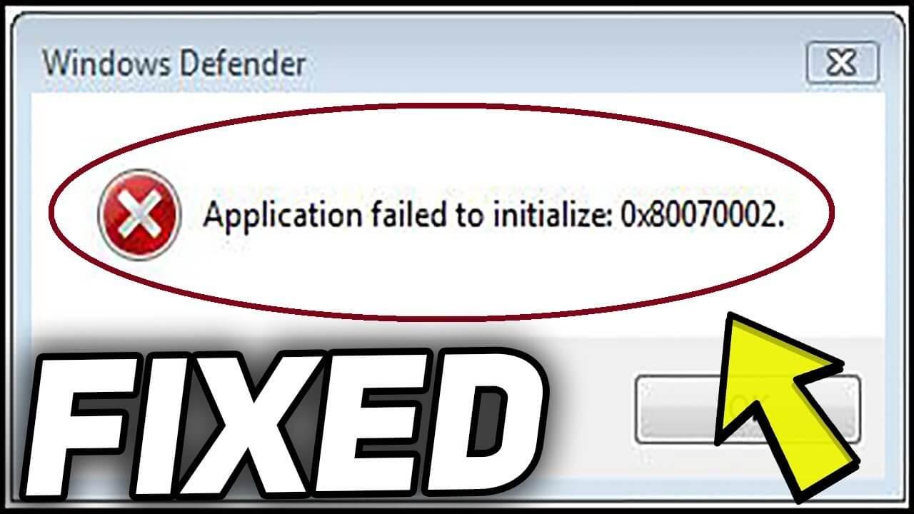 Điều này thật đáng xấu hổ: cách sửa lỗi 0x80070002 trong Windows 10 3