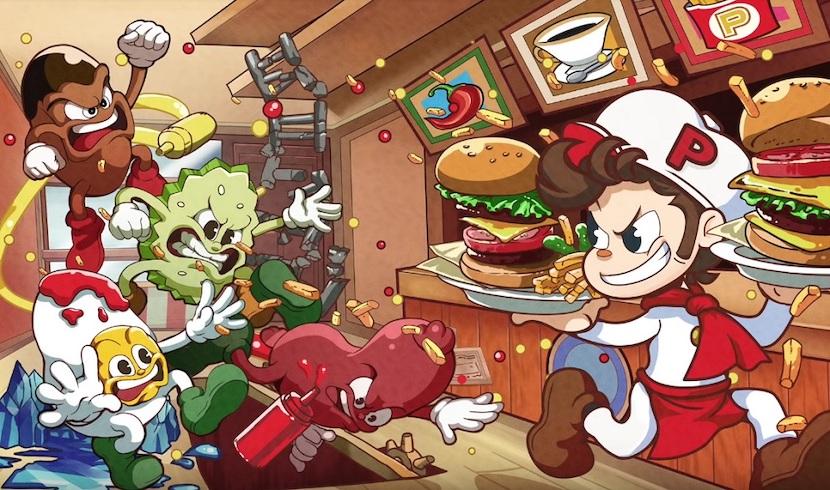 Burgertime Party välittää ilo tämän lokakuun aikana Nintendo Switch