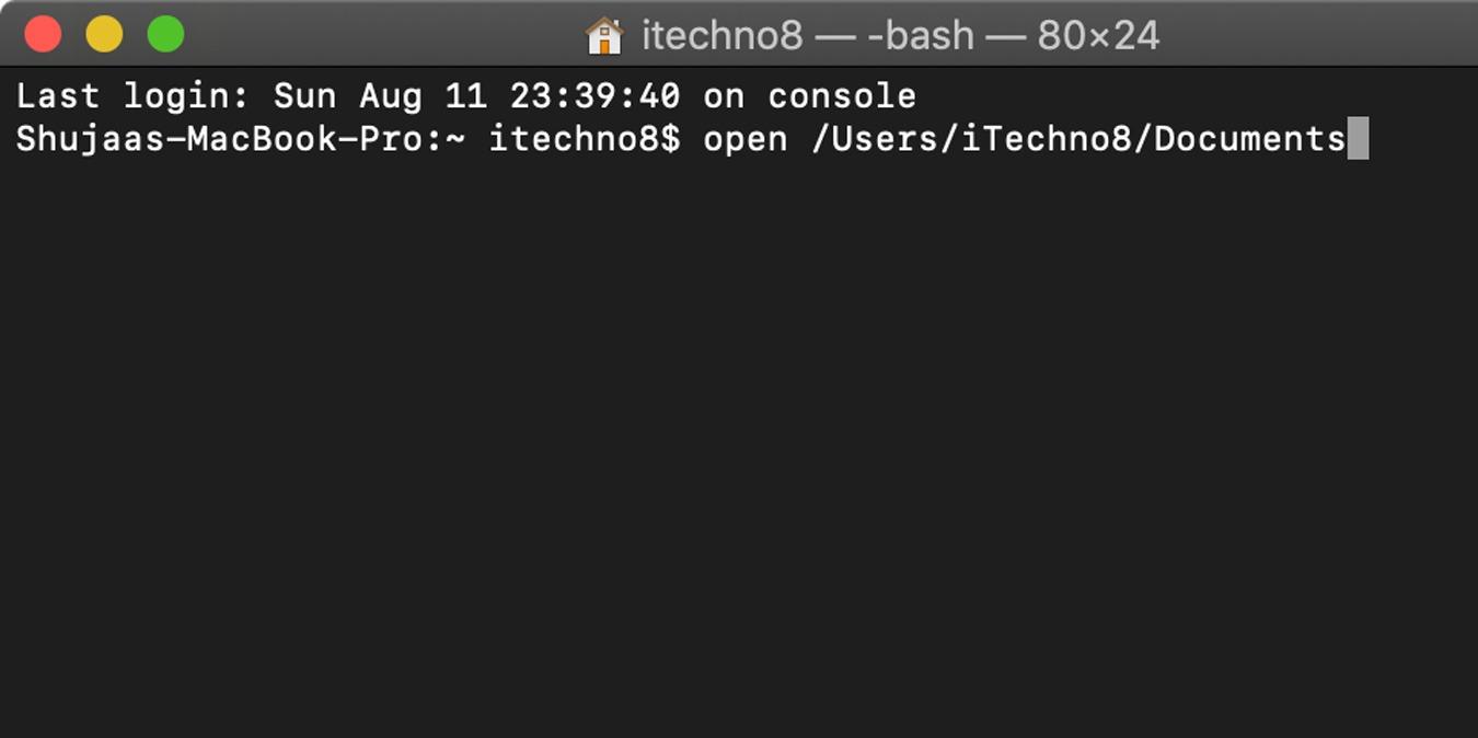 Cara Membuka Folder Apa pun di Finder dari Terminal Mac