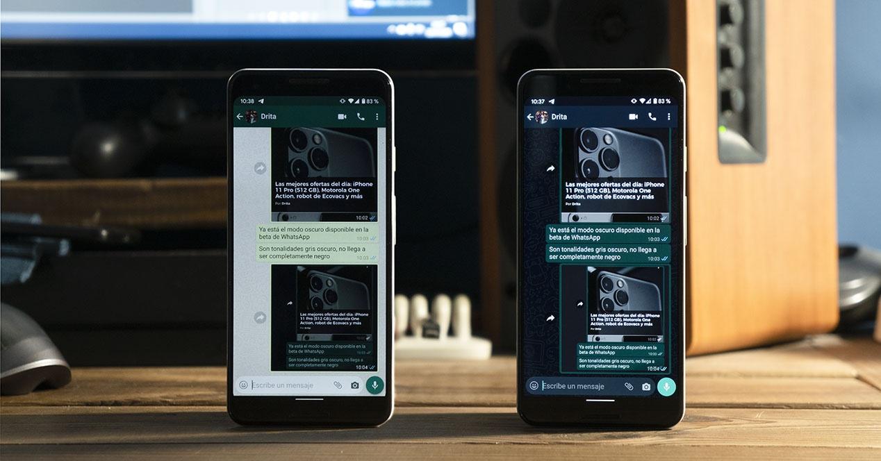 Cara mengaktifkan mode gelap WhatsApp