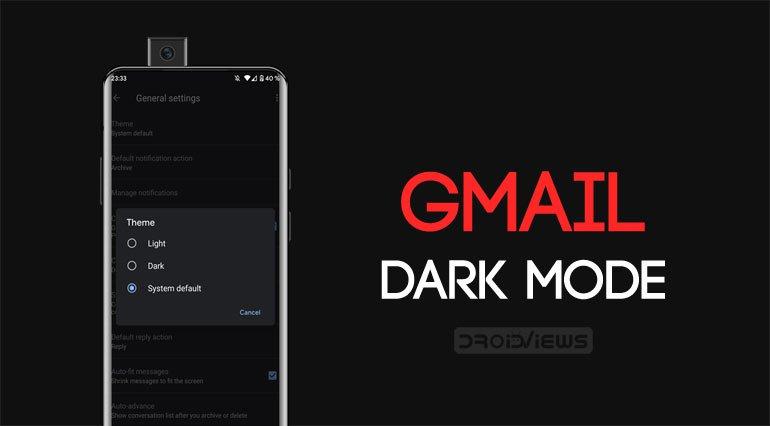 Cách kích hoạt chế độ tối trong Gmail cho Android 3