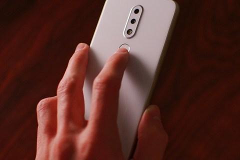 Sormenjälkien lisääminen Androidiin