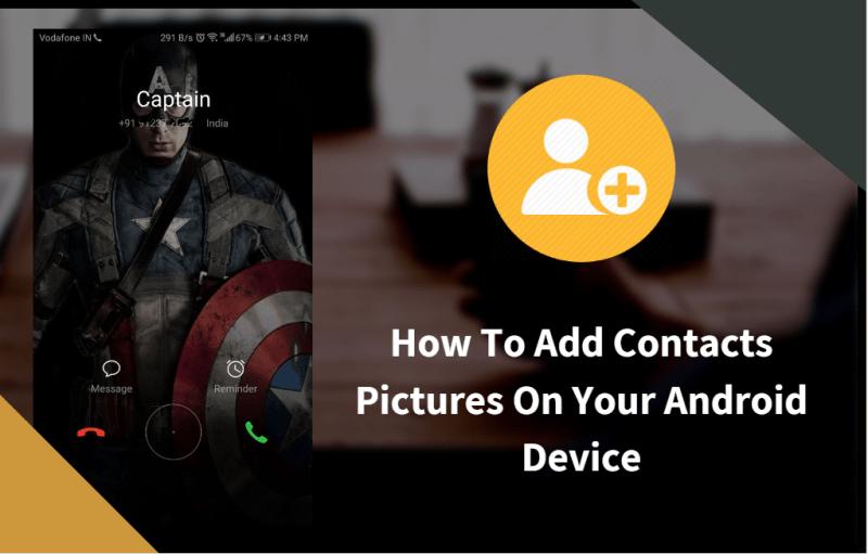 Cara Menambahkan Gambar Kontak Pada Perangkat Android Anda