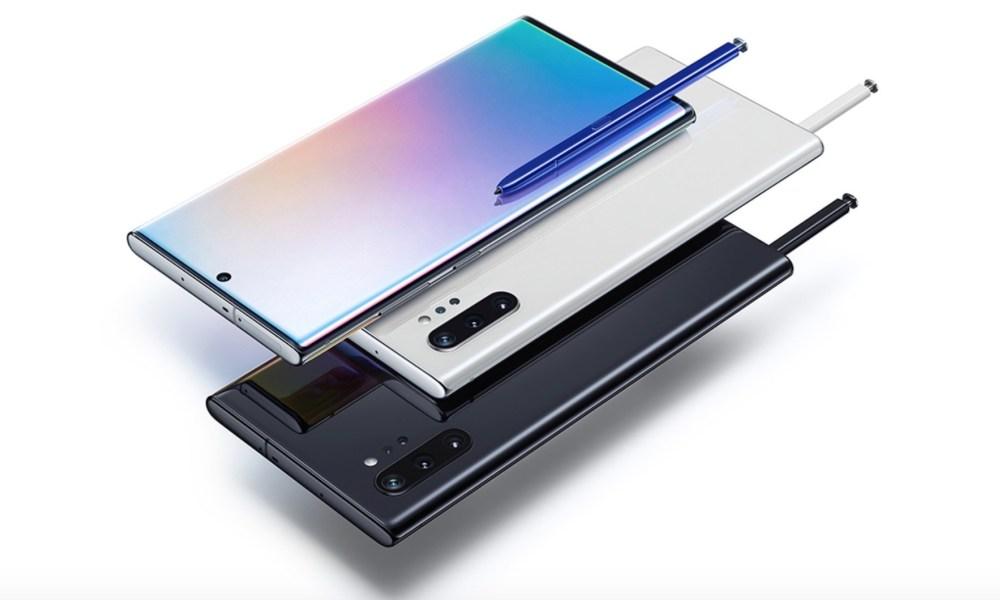 Kuinka sammuttaa tai toistaa Galaxy Note        10