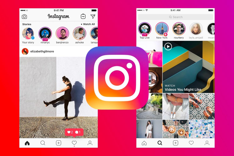 Cara memblokir akses ke Instagram dengan kata sandi 1