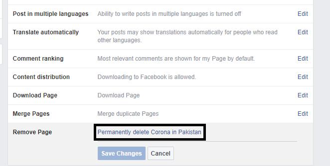 Cómo borrar un Facebook Página (Actualización 2020)