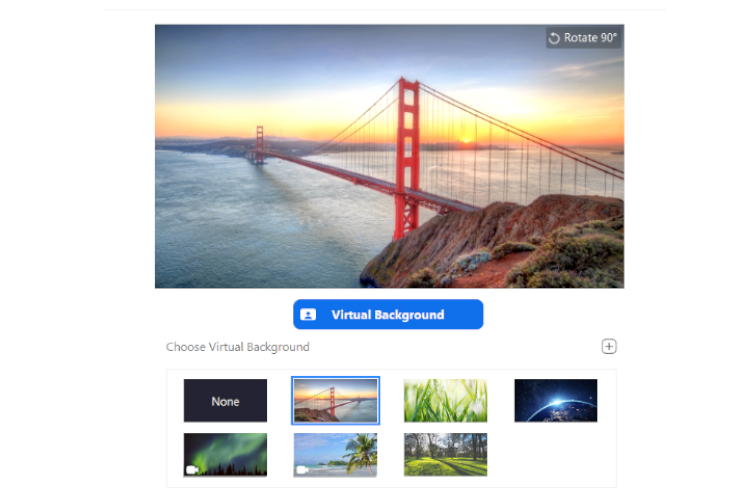 How To Use Zoom Background Images