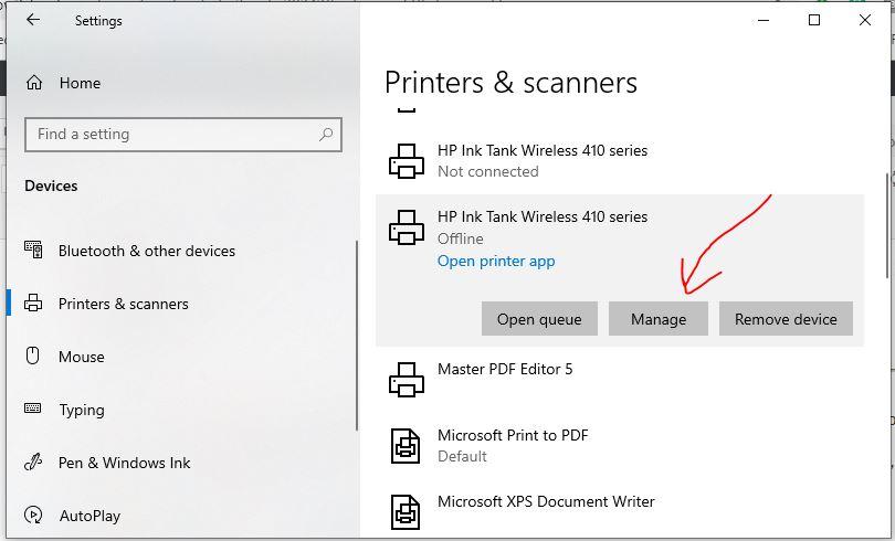 Cách thay đổi hoặc định cấu hình máy in mặc định trong Windows 10 2