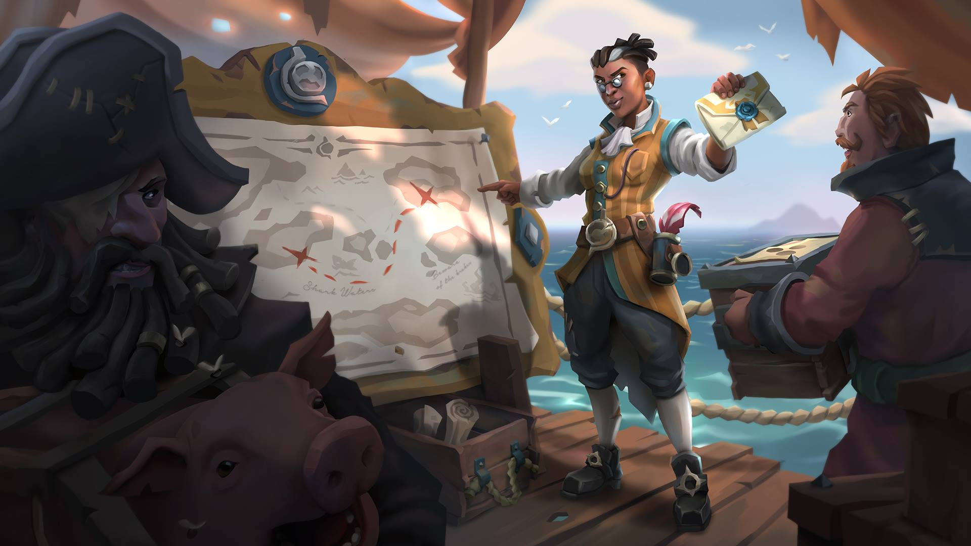 Tautkan Sea of ​​Thieves ke Twitch