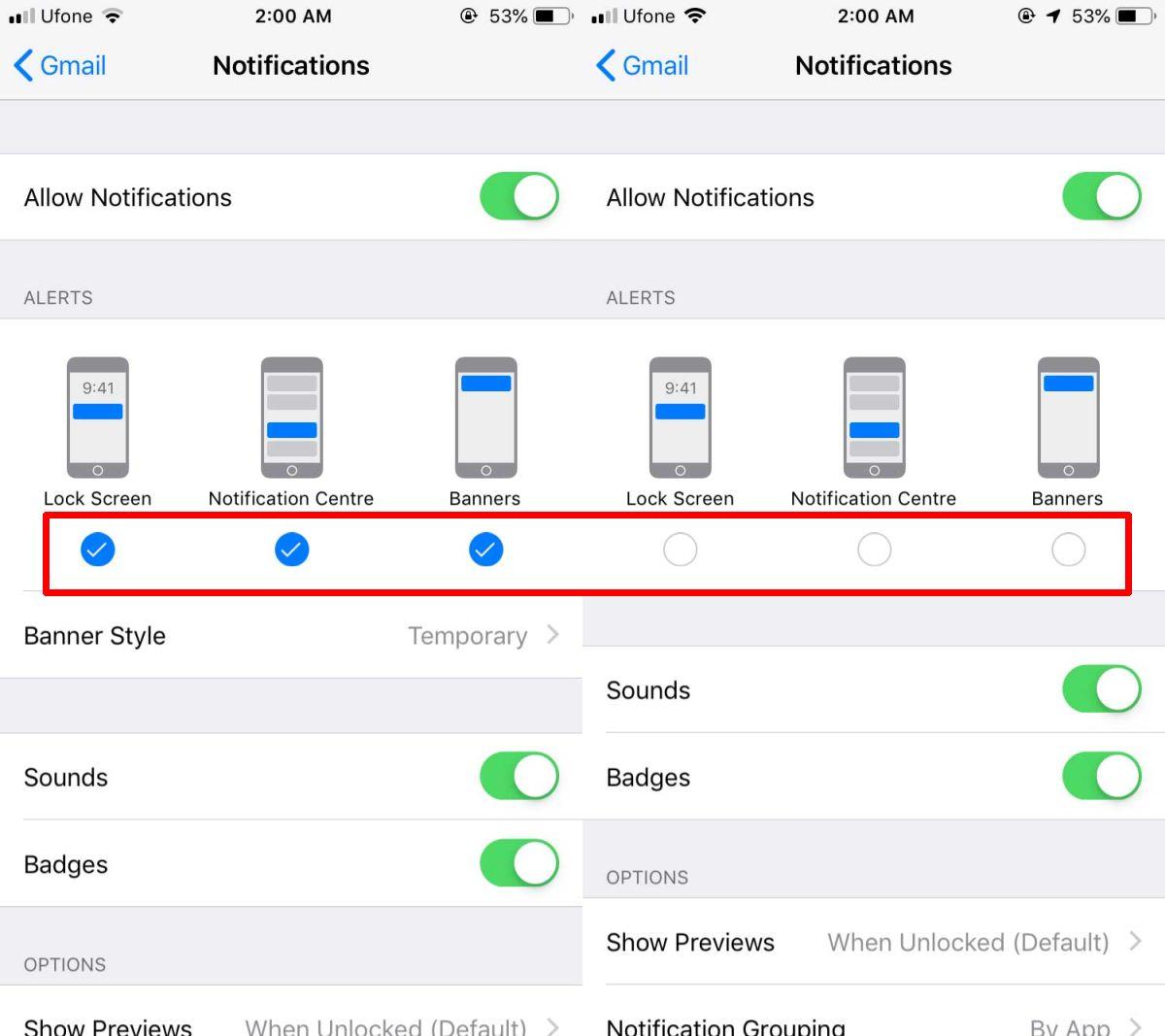 Vì vậy, bạn chỉ định cấu hình thông báo âm thanh cho các ứng dụng trên iOS 3