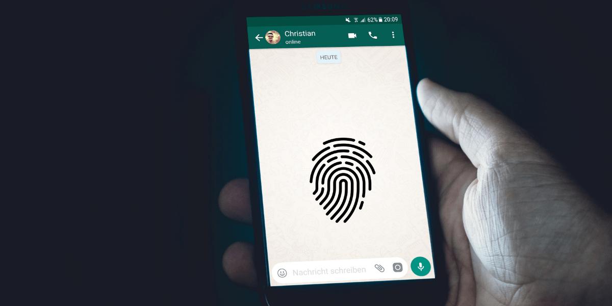 cara membuka kunci aplikasi menggunakan sidik jari Anda