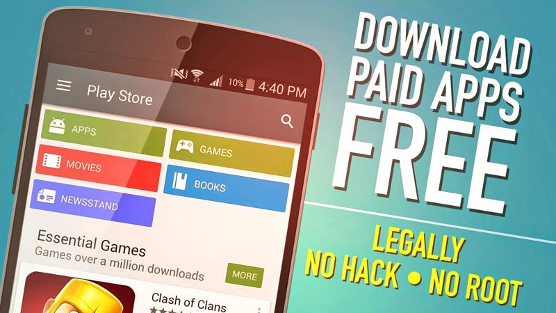 Cách tải xuống các ứng dụng và trò chơi Android trả phí miễn phí (5 Đường) 3