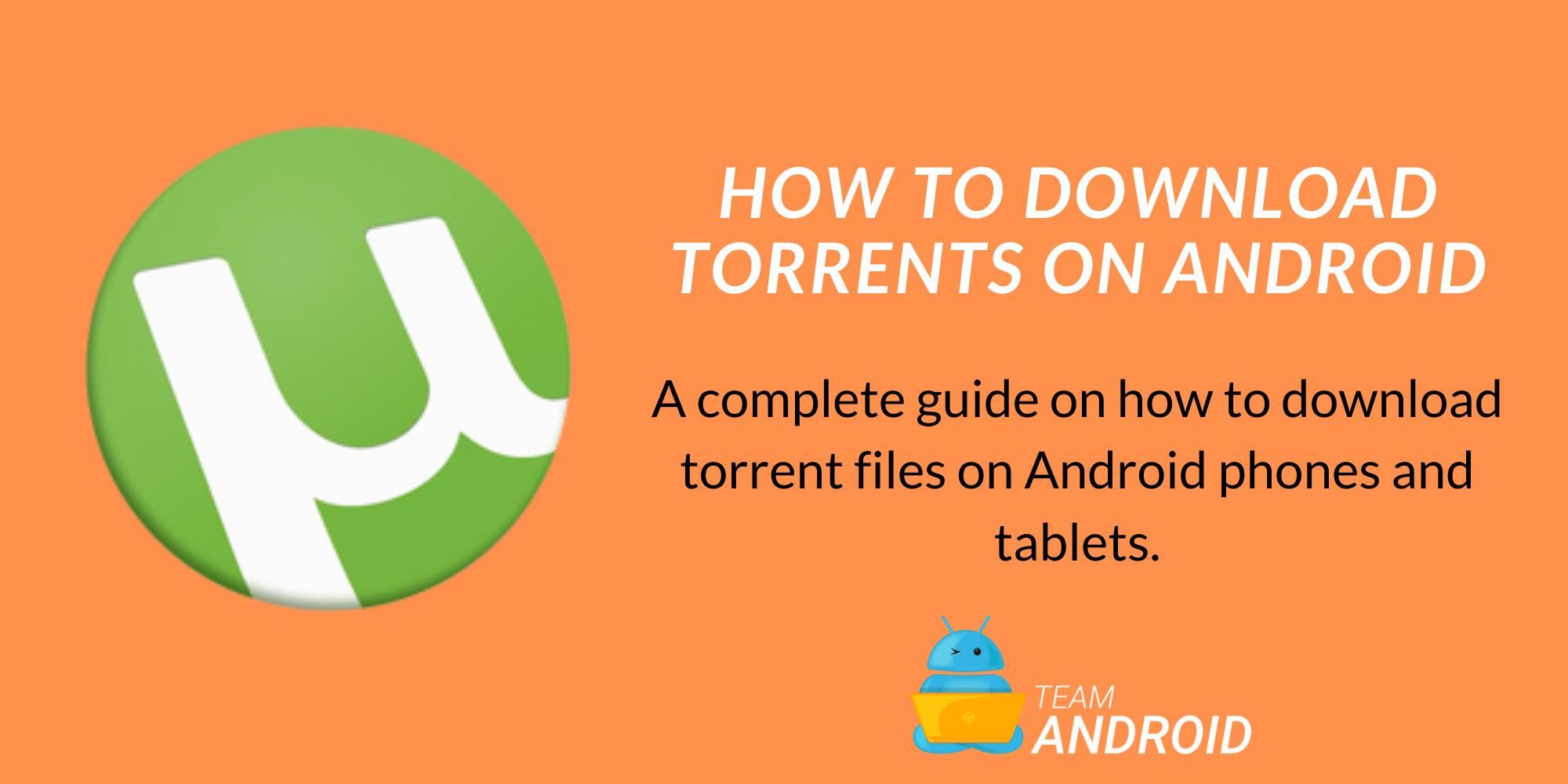 Kuinka ladata Torrent-tiedostoja Android-puhelimeen ja ladata / …