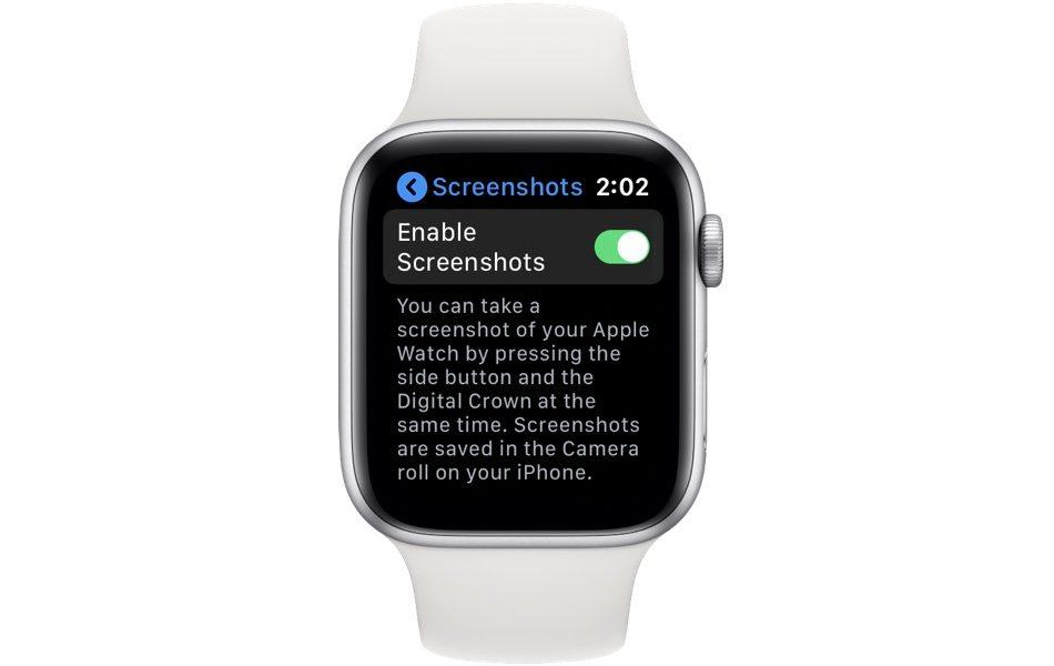 Cách tắt tính năng chụp màn hình trong Apple Watch 3