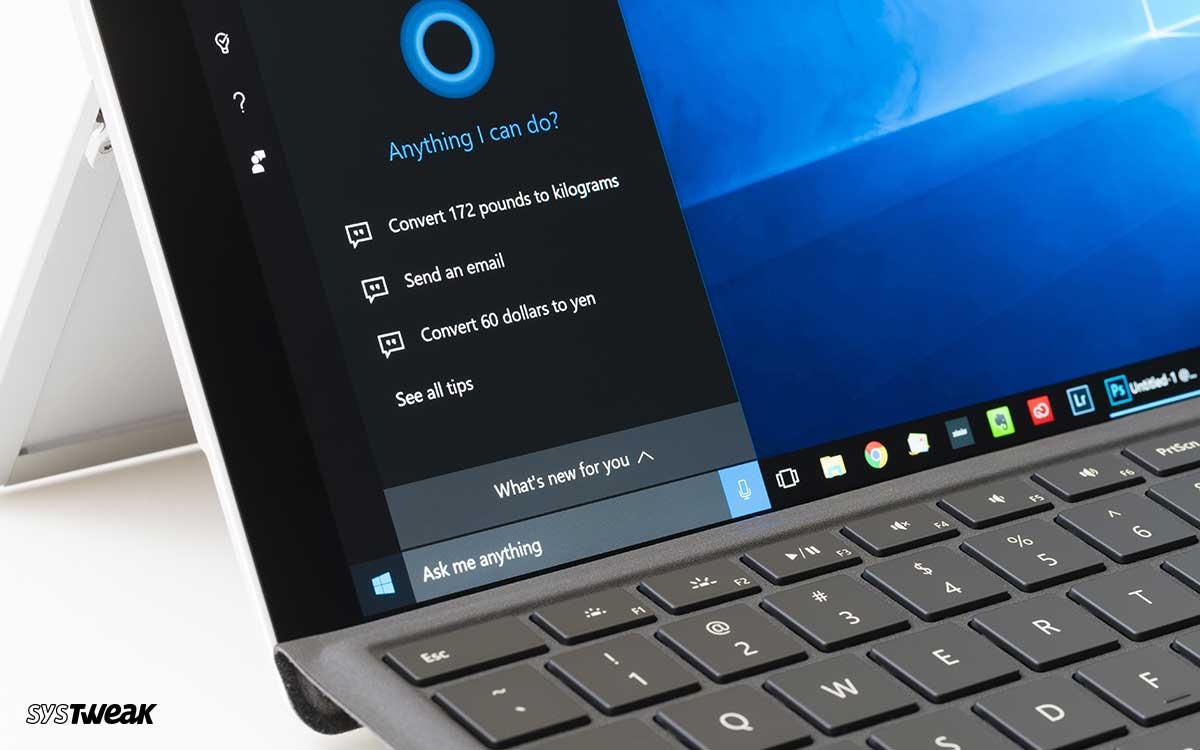 Kuinka poistaa Cortana-tietueet ja sulkea Cortana äänitallennuksesta pois