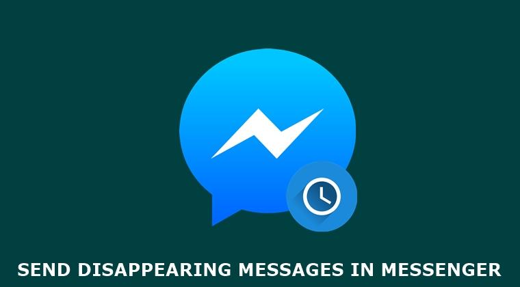 Kuinka lähettää salattuja kadonneita viestejä Messengerissä