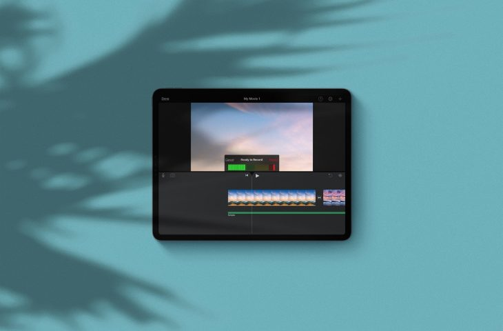 Ääniviestien tallentaminen ja lisääminen iMovieen Macissa …