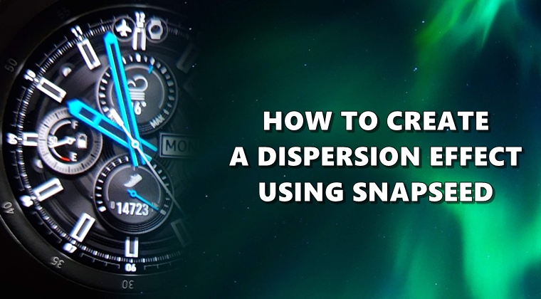 How to make scattering effects through Snapseed 1