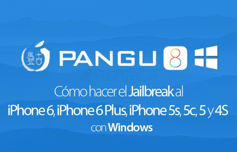 Bagaimana cara melakukan Jailbreak iPhone 6, iPhone 6 Plus, iPhone 5s, 5c, 5 dan 4S dengan Pangu8 (Windows) 1