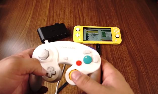 Cara mendapatkan adaptor GameCube bekerja dengan Switch Lite