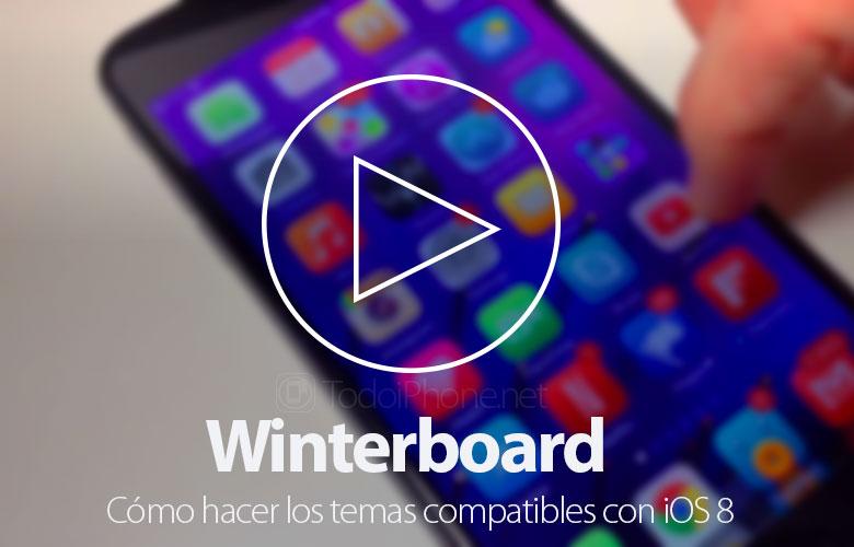 Cara membuat tema Winterboard kompatibel dengan iOS 8 1