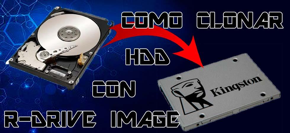 Cómo hacer una imagen de disco duro con R-Drive Image