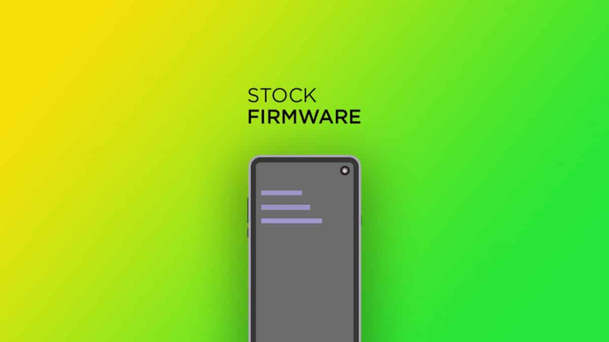 Instal Stock ROM Di Tsinghua K12 (Firmware Resmi)