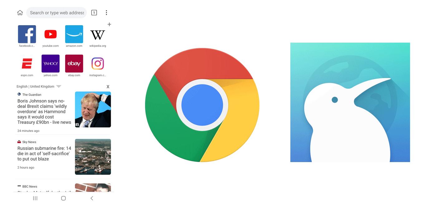 Kuinka asentaa Chrome Desktop -laajennukset Androidiin