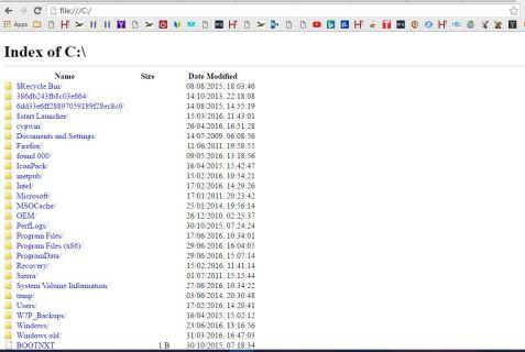 Kuinka navigoida ja avata kansioita ja tiedostoja Google Chromen avulla
