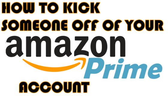 Làm thế nào để đuổi ai đó ra khỏi bạn Amazon Tài khoản chính 3