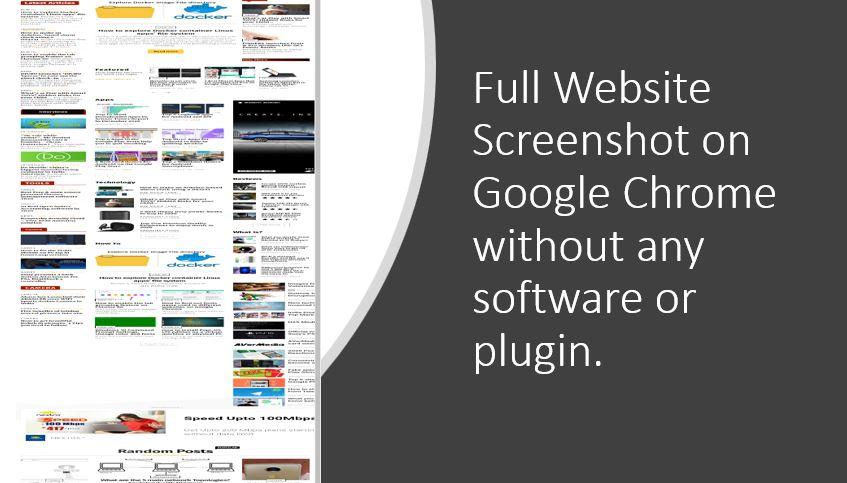 Cara mengambil tangkapan layar situs web lengkap di Google Chrome tanpa alat apa pun