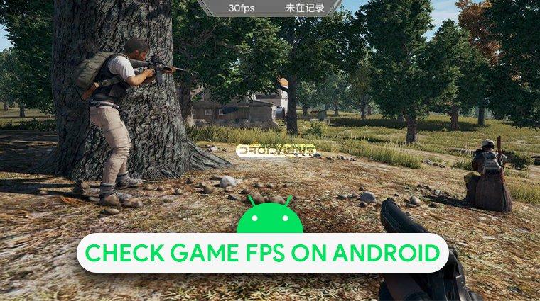 Ota käyttöön KFMark Game FPS Checker ja Android