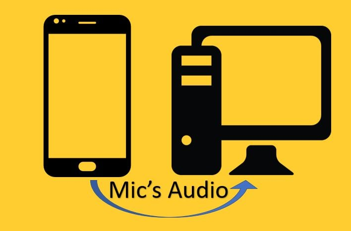 Cara menggunakan smartphone sebagai mikrofon untuk a Windows komputer