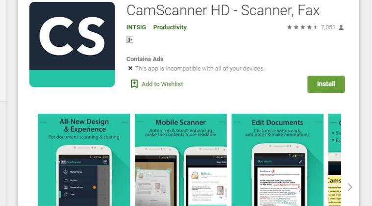 CamScanner đã bị xóa khỏi Google Play vì nó chứa phần mềm độc hại 3