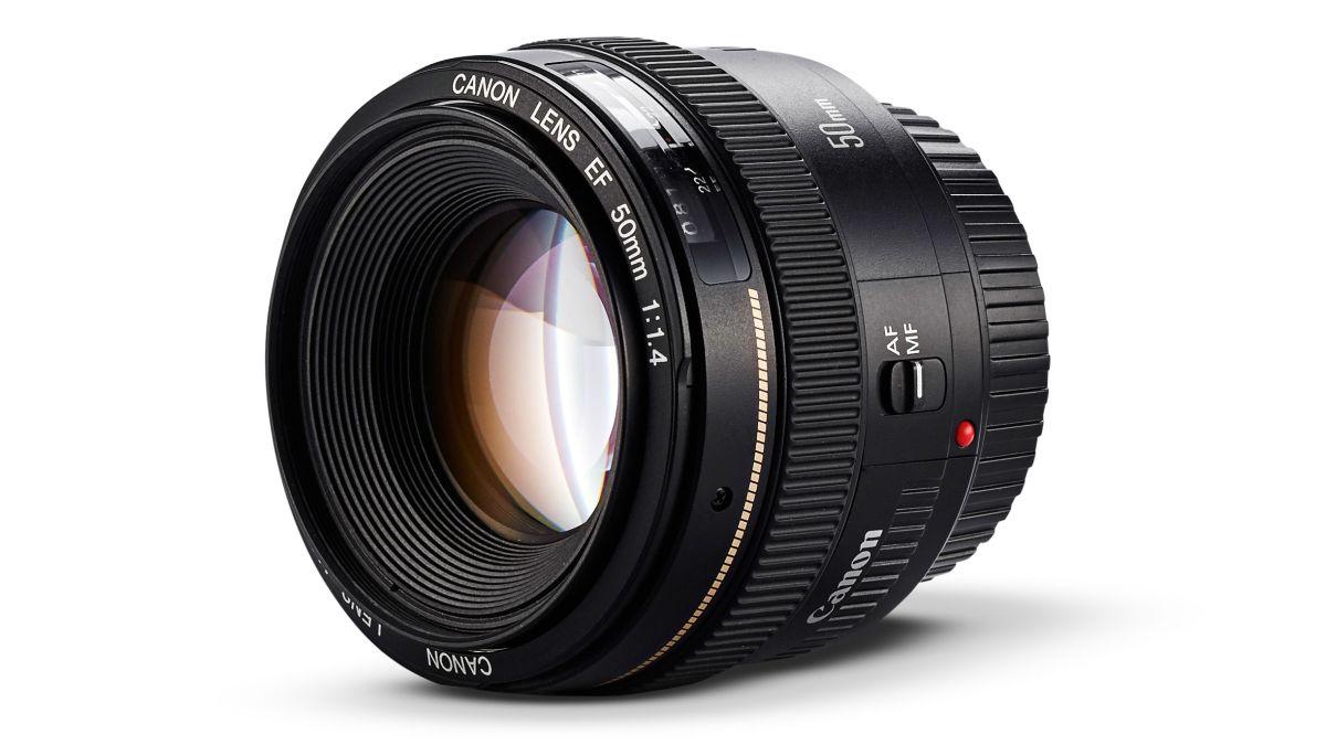 Canon EF 50mm f / 1.4 USM mengulas 1