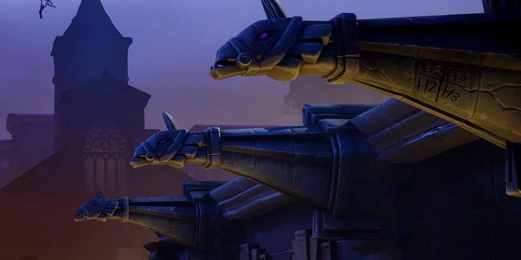 Layar muat bocor untuk Fortnite Musim 10, Minggu 8